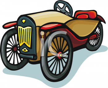royalty free clipart picture of an old timey car rh clipartguide com old car clip art pictures old car clip art pictures