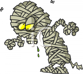 Cartoon Mummy