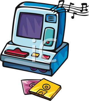 Toy Cash Register Clip Art