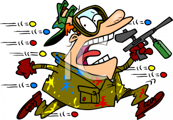 Paintball Clip Art