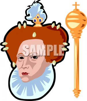 queen elizabeth clip art royalty free clipart illustration rh clipartguide com queen clip art black and white queen clip art images