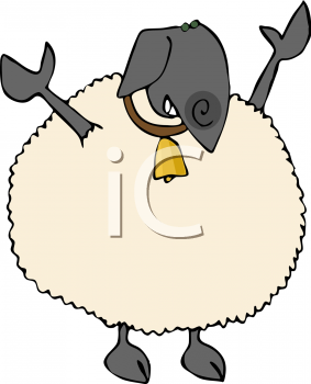 a black sheep clip art