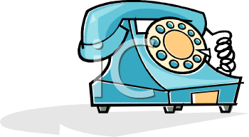 blue telephone clip art royalty free clipart illustration rh clipartguide com  telephone clipart free