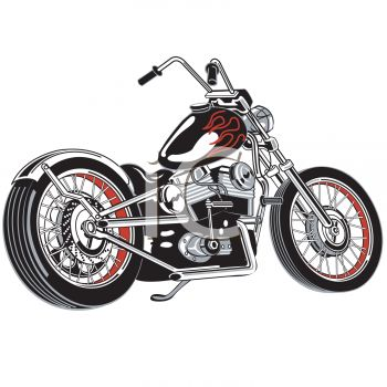 Cool Motorcycle Clip Art