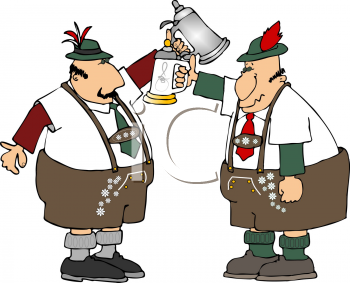 oktoberfest clip art men with beer steins royalty free clipart rh clipartguide com free oktoberfest clipart german Oktoberfest Images Free