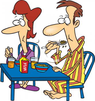 couple eating breakfast together clip art royalty free clipart rh clipartguide com free clipart breakfast club free clipart breakfast food