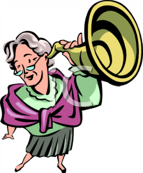 old woman holding an ear trumpet clipart royalty free clip art rh clipartguide com clipart hearing protection hearing clipart png