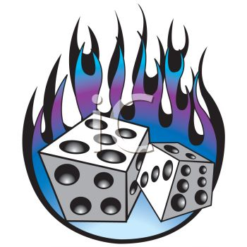 Issue 64 of Total Tattoo Magazine is out now, so here's a quick note to flaming dice retro tattoo design
