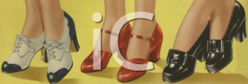 1940's Shoe Catalog Advertisement