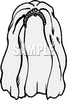 bridal veil royalty free clipart picture rh clipartguide com