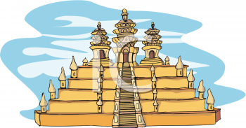 lhasa tibetan temple royalty free clip art illustration rh clipartguide com temple clipart png template clip art