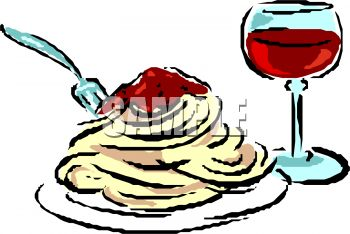 plate of spaghetti and wine royalty free clip art image rh clipartguide com pasta images clip art pasta clipart free download