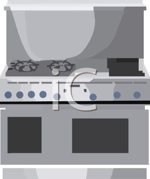 Commercial Stainless Stove