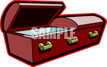 Wood and Brass Casket