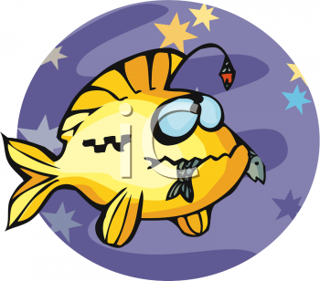 Angler Fish Cartoon