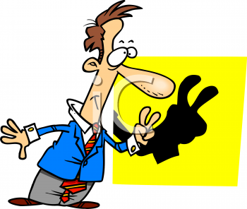cartoon of a man making shadow animals royalty free clip art picture rh clipartguide com shadow clipart alice in wonderland shadow clipart images