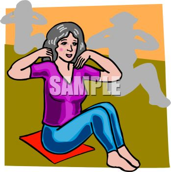 "This ""yoga class"" clipart image is available through a low cost subscription"