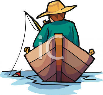 man fishing in a row boat royalty free clip art illustration rh clipartguide com bass fishing boat clipart fishing boat clip art free