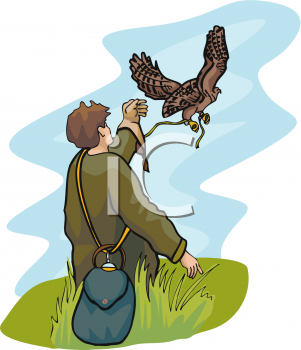 Falcon and His Owner