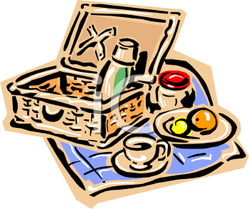 Picnic Food - Royalty Free Clipart Picture