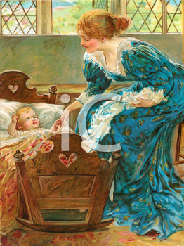 Victorian Mother and Child