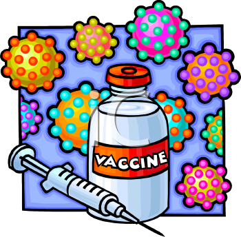 vaccine and hypodermic needle royalty free clip art illustration rh clipartguide com vaccine shot clipart influenza vaccine clipart