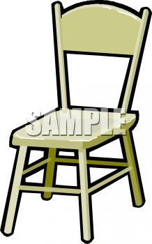 Simple, Wooden Chair