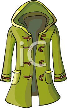 Hooded Coat for a Woman