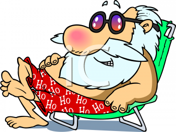 santa relaxing on a beach royalty free clip art picture rh clipartguide com relaxing clip art images relaxing clipart black and white