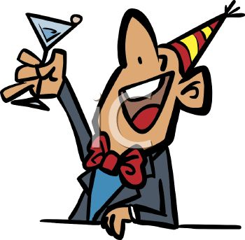 drunk celebrating the new year royalty free clipart image rh clipartguide com drink clipart drink clipart
