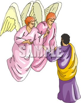 Man Talking to Angels