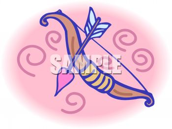Cupids Bow and Arrow