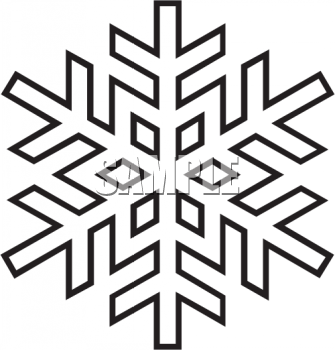 Snowflake Clipart Black And White on honda civic pattern