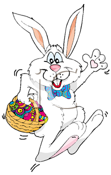 hopping easter bunny royalty free clip art illustration rh clipartguide com easter bunny clipart free easter bunny clipart black and white