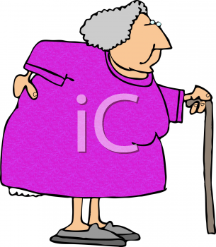 Old Woman With a Bad Back