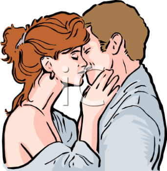 realistic clip art of a man and woman kissing royalty free clipart rh clipartguide com man and woman clipart black and white man and woman clipart