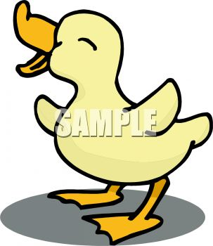 cute baby duck royalty free clipart picture rh clipartguide com baby duck clipart black and white baby donald duck clipart
