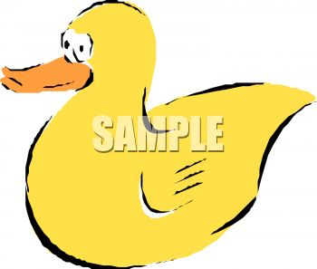 royalty free clipart image yellow rubber duck rh clipartguide com rubber ducky clip art rubber duck clip art black and white