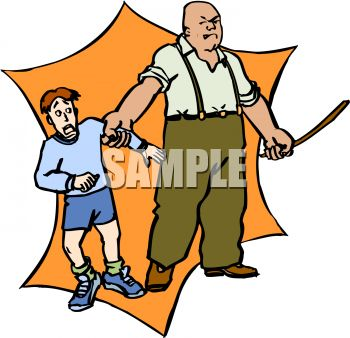 man threatening to abuse a boy royalty free clip art image rh clipartguide com