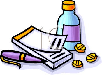 Prescription Pad and Medications