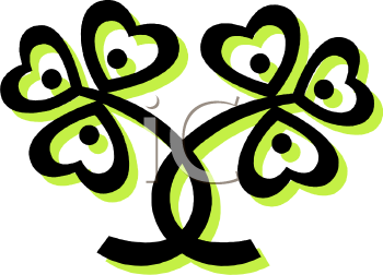 Clover Leaf Graphic