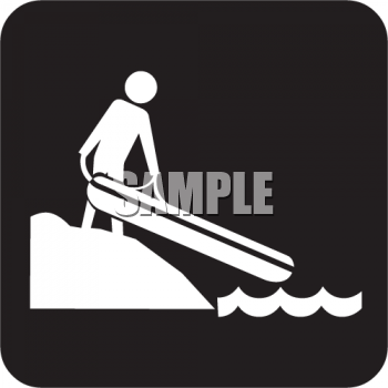 Outdoor Recreation Icons-Rafting Area