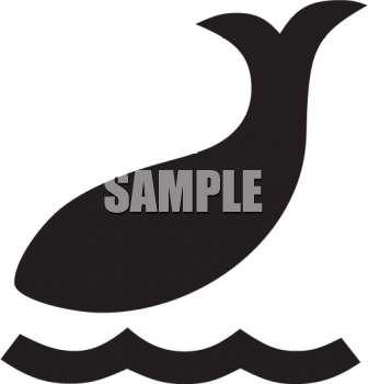 Animal Silhouette-Whale