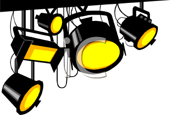 stage lights royalty free clip art picture rh clipartguide com stage lights clipart free Stage Lights Border
