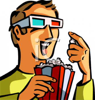0511-0904-0419-5876_Teenage_Boy_Eating_Popcorn_While_Watching_a_3D_Film_clipart_image.jpg