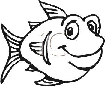 black and white fat cartoon fish royalty free clip art picture rh clipartguide com black and white fish clip art vector black and white fish clipartphotos