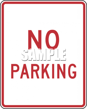 American Road Signs-No Parking