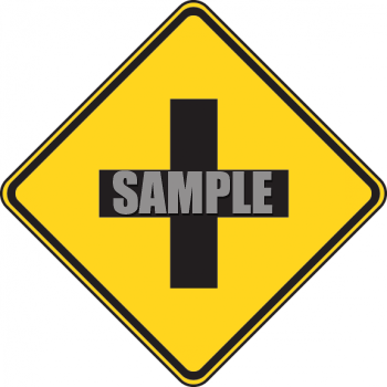 Road Sign-Intersection Symbol