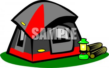 Dome Tent With Sunshade