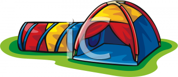 Colorful Dome Tent